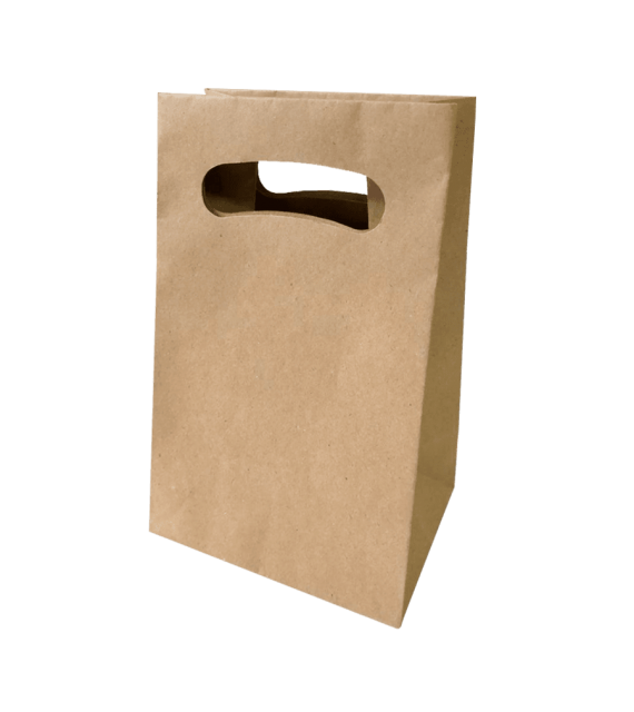 Bolsa en papel kraft para empacar mediana