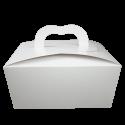 Caja para empaque y repostería Blanco CRL BL
