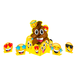 Centro de Mesa Fiesta Emoji