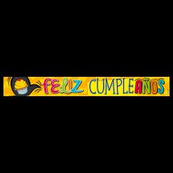 Letrero de cumpleaños Banner 06 (Pequeño)