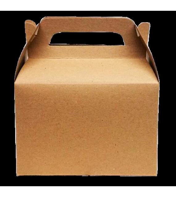 Caja sorpresa en kraft