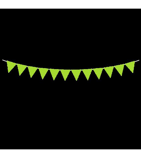 Banderín polka toda ocasión para decorar