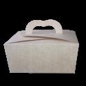 Caja para empaque y repostería en Kraft claro CRL KC