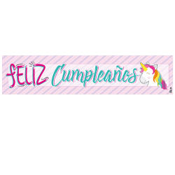 Letrero de cumpleaños Banner 05 (Grande)