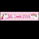 Letrero de cumpleaños Banner 06 (Grande)