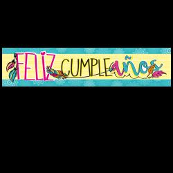 Letrero de cumpleaños Banner 13 (Grande)