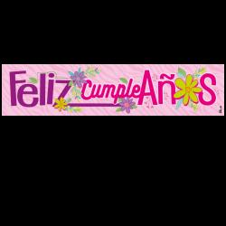 Letrero de cumpleaños Banner 15 (Grande)
