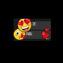 Tarjeta De - Para Emoji
