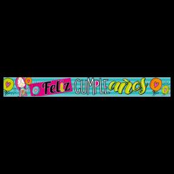 Letrero de cumpleaños Banner 17 (Pequeño)