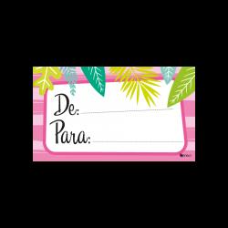 Tarjeta De - Para Fiesta Flamingo