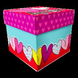 Caja mediana con tapa CTE 19-24 Amor